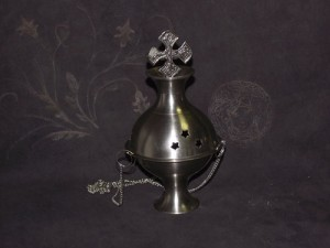 "Incense Burner 6"" Hanging Censor"
