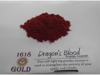 Dragons Blood Gold Powder Incense