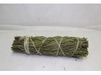 Ceremonial Cedar sage smudge blessing removal of negative energy