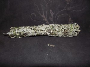 Mugwort Black Sage Large Smudge Stick