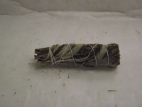Sage White Smudge and Rosemary Elf Leaf Stick