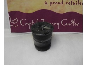 Crystal Journey Candle Reiki Black Cat