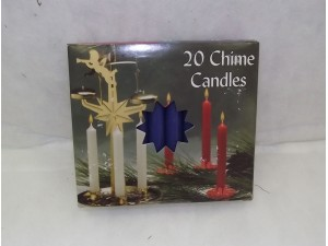 Chime Party Candles Blue