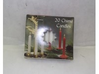 Chime Party Candles White