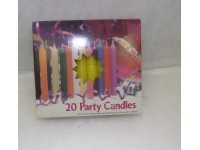Chime Party Candles Yellow