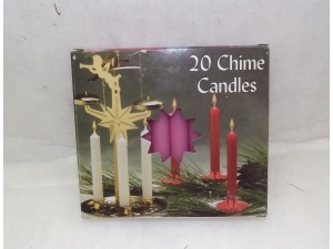 Chime Party Candles Pink
