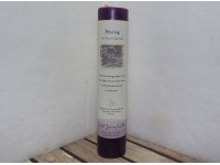 Crystal Journey Pillar Candle Reiki Healing