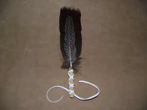 Wild Turkey Feather Fan