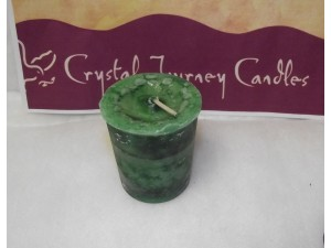 Crystal Journey Candle Reiki Money