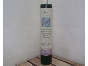 Crystal Journey Pillar Candle Reiki Peace