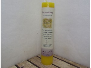 Crystal Journey Candle Positive Energy Reiki Pillar