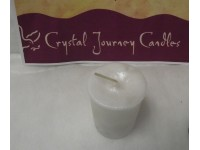 Crystal Journey Candle Reiki White Sage