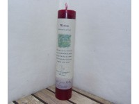 Crystal Journey Pillar Candle Reiki Wisdom